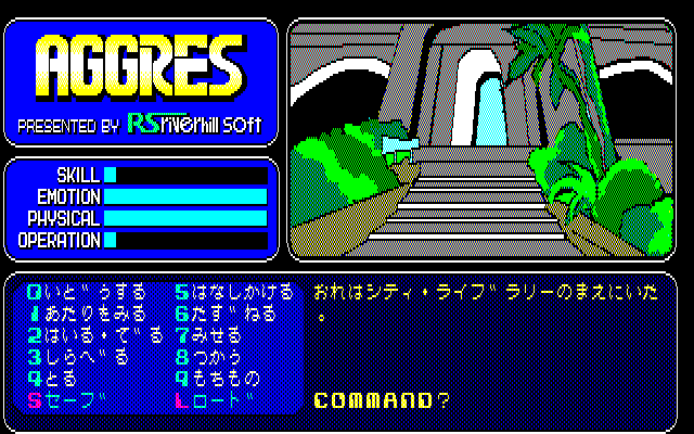 Aggres PC-88 Getting started