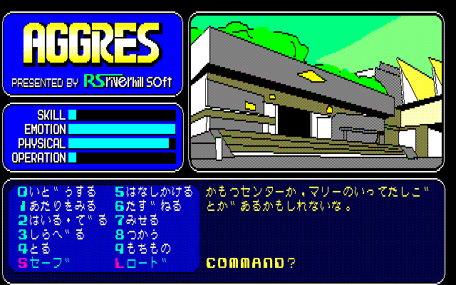Aggres PC-88 Research institute