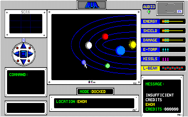 AIR PC-88 Planet map