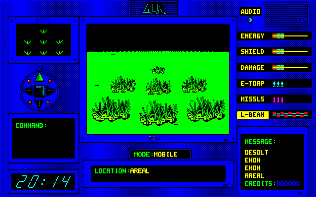 AIR PC-88 Greenish planet