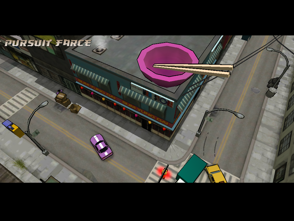 Grand Theft Auto: Chinatown Wars iPad Going to visit uncle Kenny.
