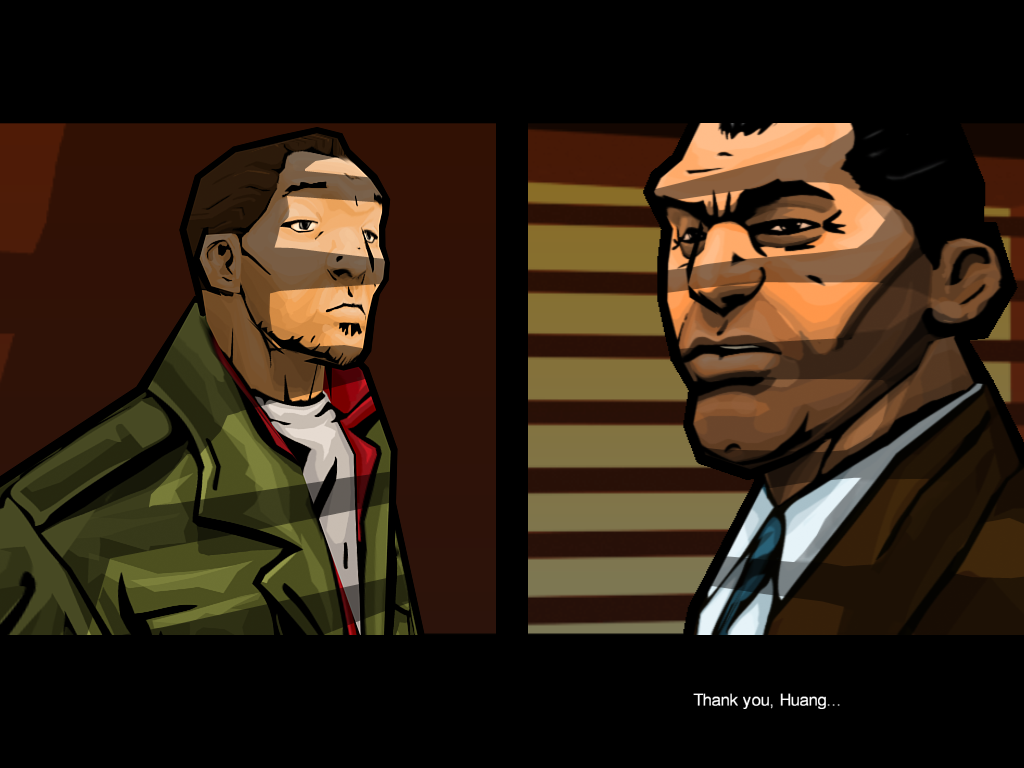 Grand Theft Auto: Chinatown Wars iPad Back at uncle Kenny for my next mission
