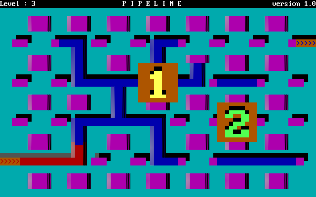 Pipeline DOS A two-player game in level 3