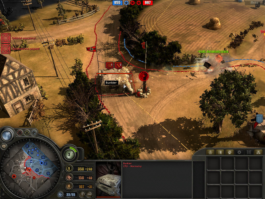 Company of Heroes: Tales of Valor Windows Enemy bunker