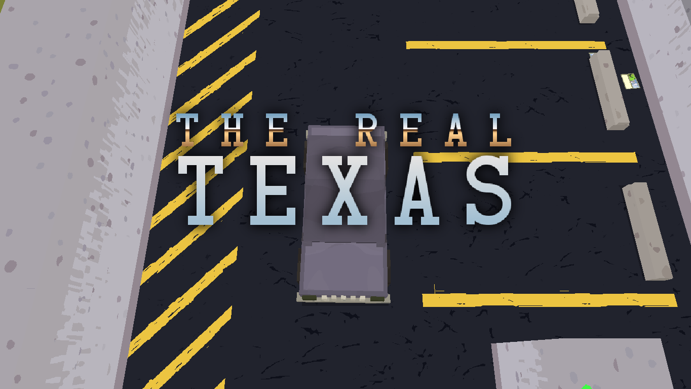 The Real Texas Windows Title screen