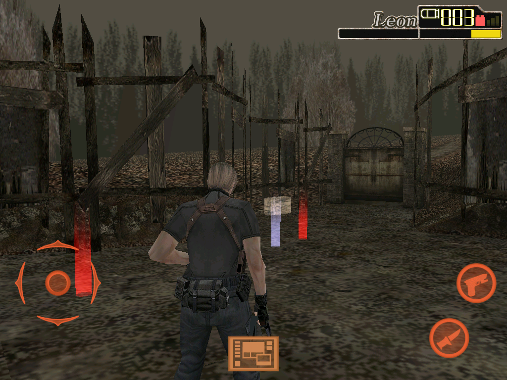 Resident Evil 4: Mobile Edition iPad Pick-ups