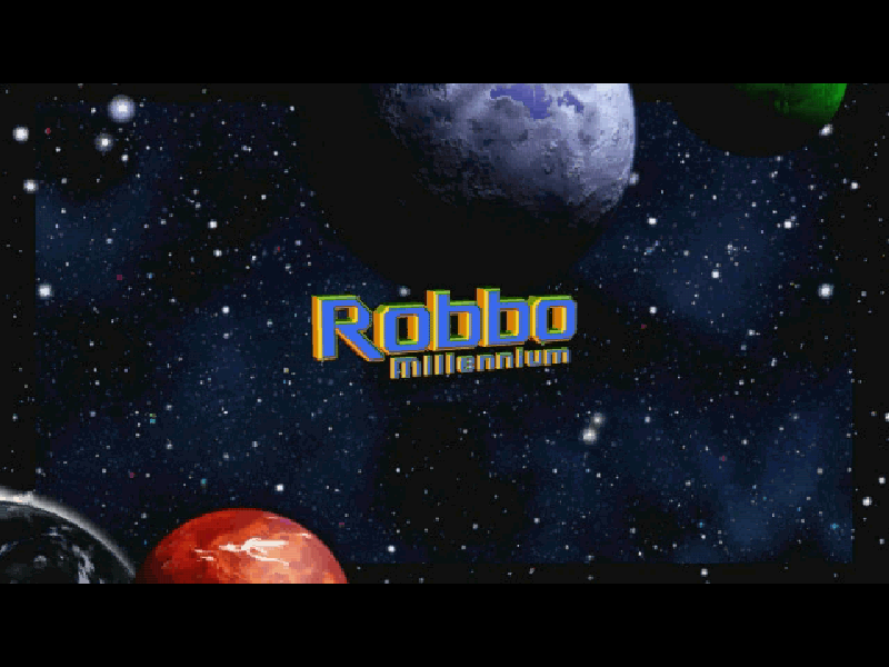 Robbo Millennium Windows Title screen