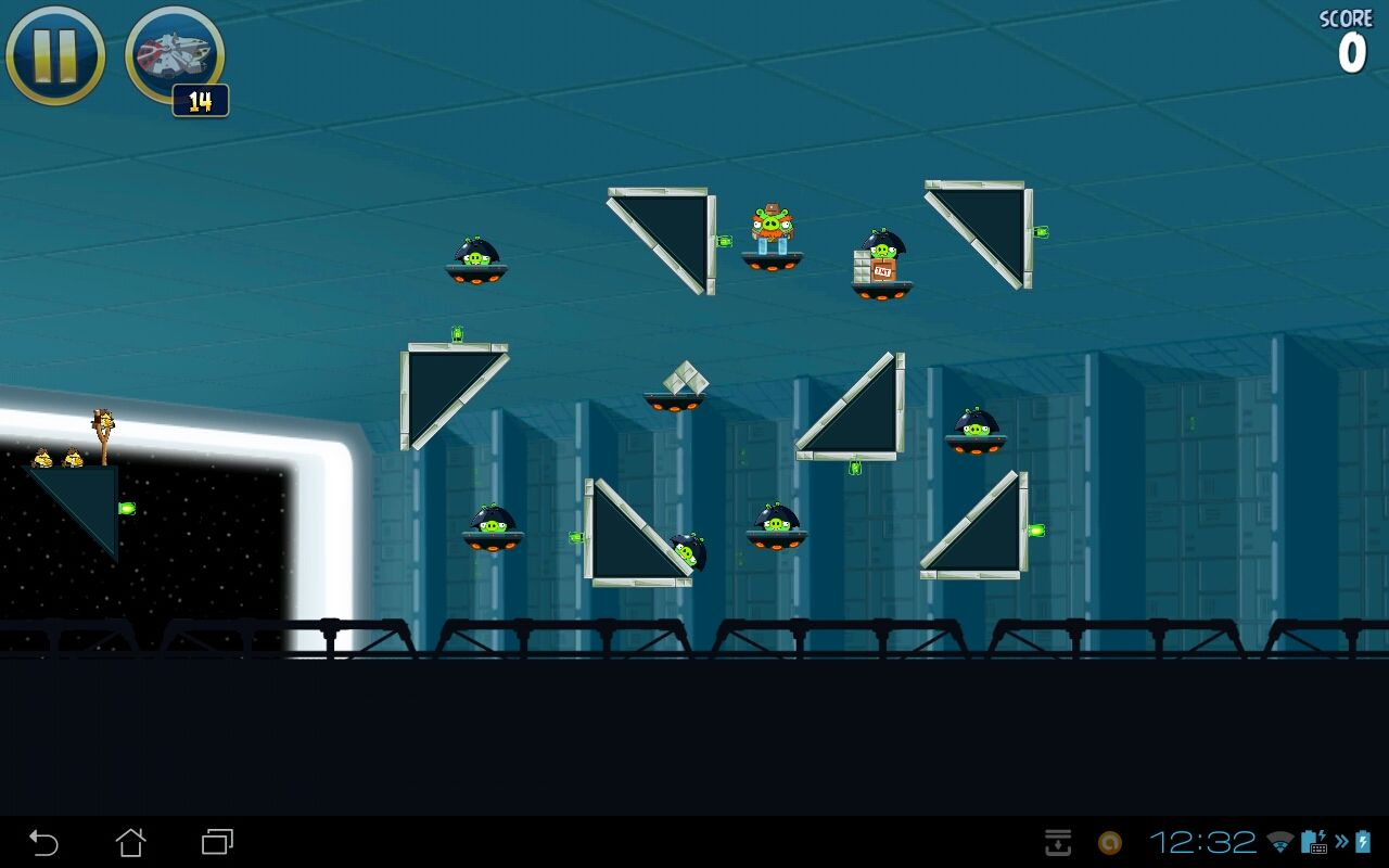 Angry Birds: Star Wars Android Death Star level