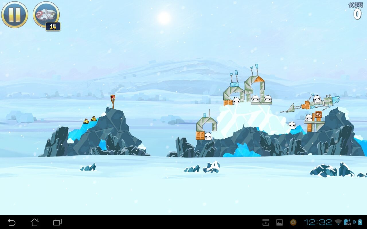 Angry Birds: Star Wars Android Hoth level