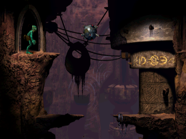 Oddworld: Abe's Oddysee Windows These mines should be avoided