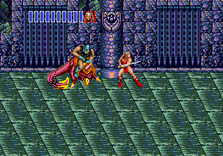 Golden Axe II Genesis duel - second battle