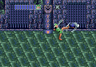 Golden Axe II Genesis kick in the bone ass.