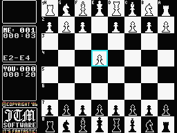 Graphic Chess Spectravideo Playing