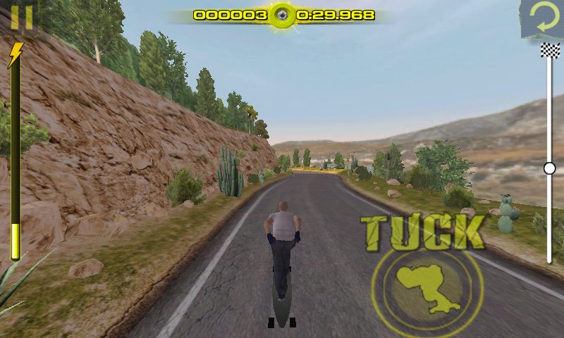 Downhill Xtreme Android Tucking.