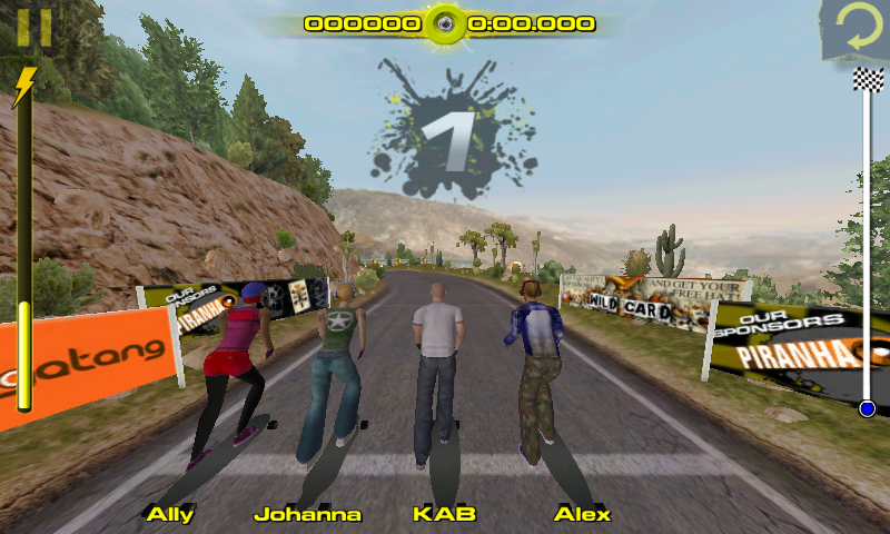 Downhill Xtreme Android Now time for the real race