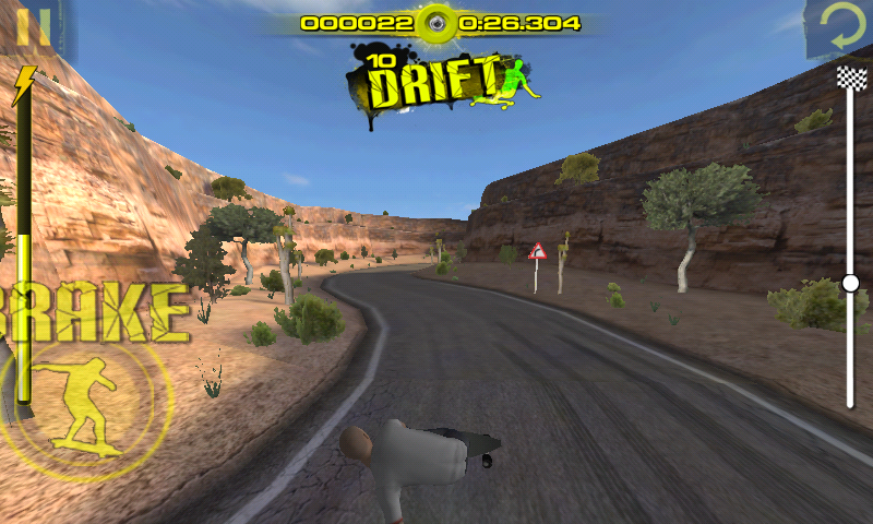 Downhill Xtreme Android Drifting.