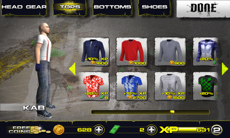 Downhill Xtreme Android Clothes shop