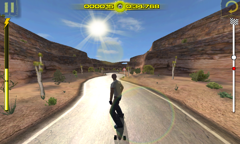 Downhill Xtreme Android Jordan event