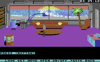 Mean Streets Commodore 64 Beach house.