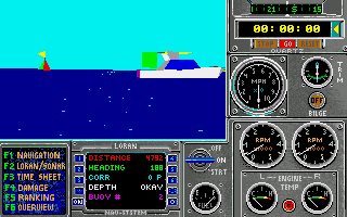 Heat Wave: Offshore Superboat Racing Amiga Time trial.