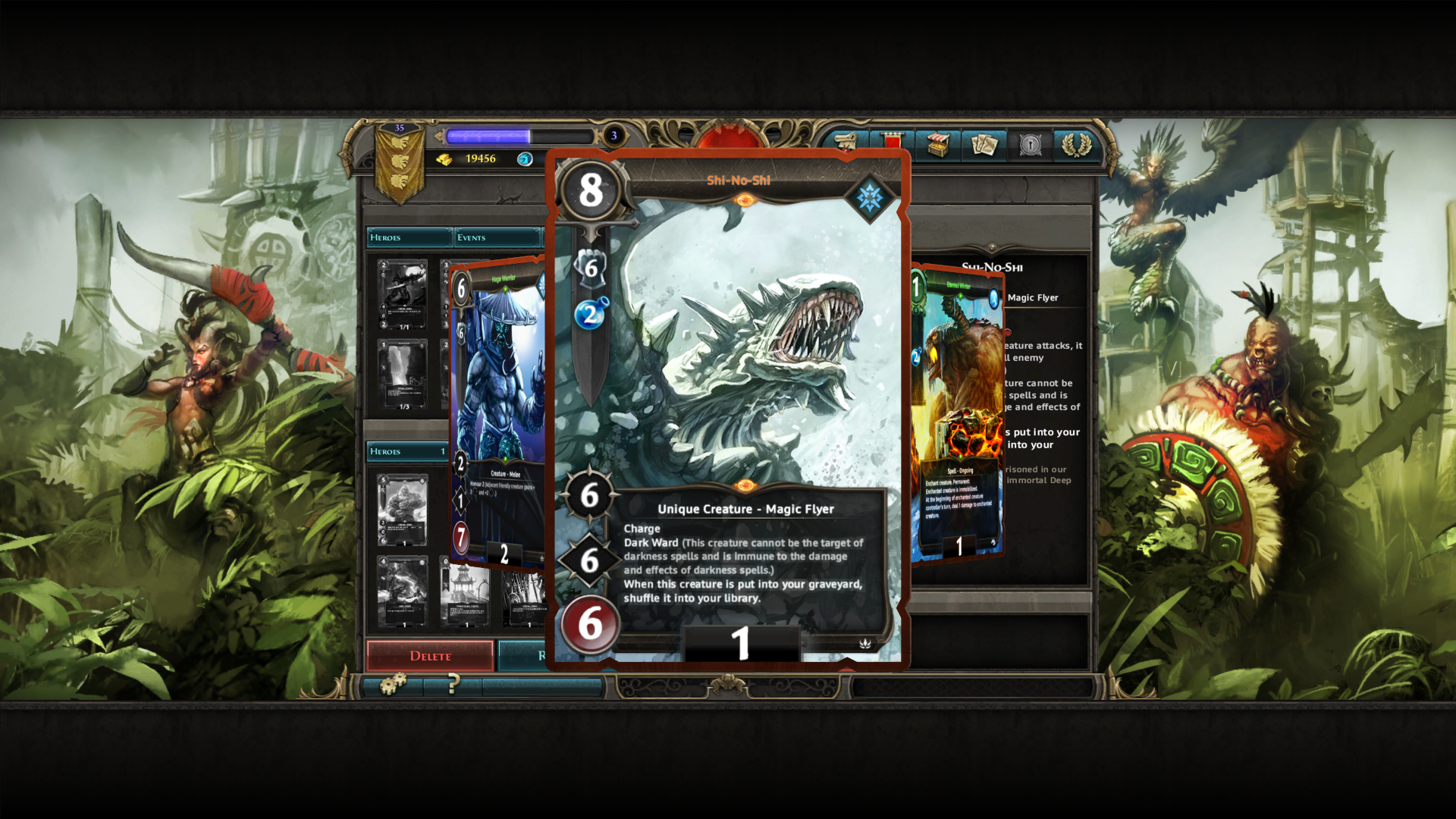 Might & Magic: Duel of Champions Windows The game features all the familiar creatures from the previous Might & Magic games, and some new (and nasty) faces