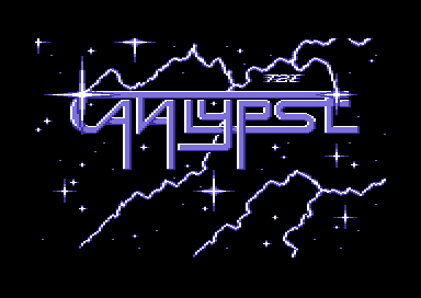 Catalypse Commodore 64 Title screen