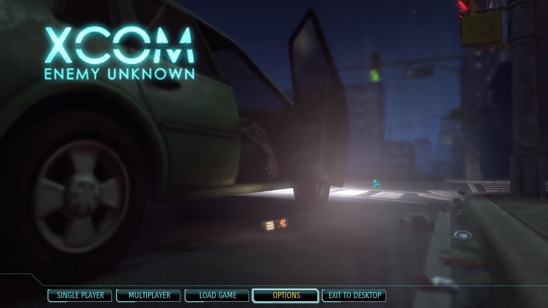 XCOM: Enemy Unknown Windows Main menu