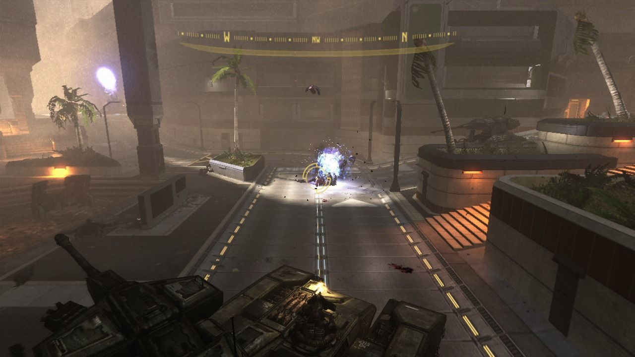 Halo 3: ODST Xbox 360 You can drive the Scorpion tank or just commandeer its machine-gun turret.