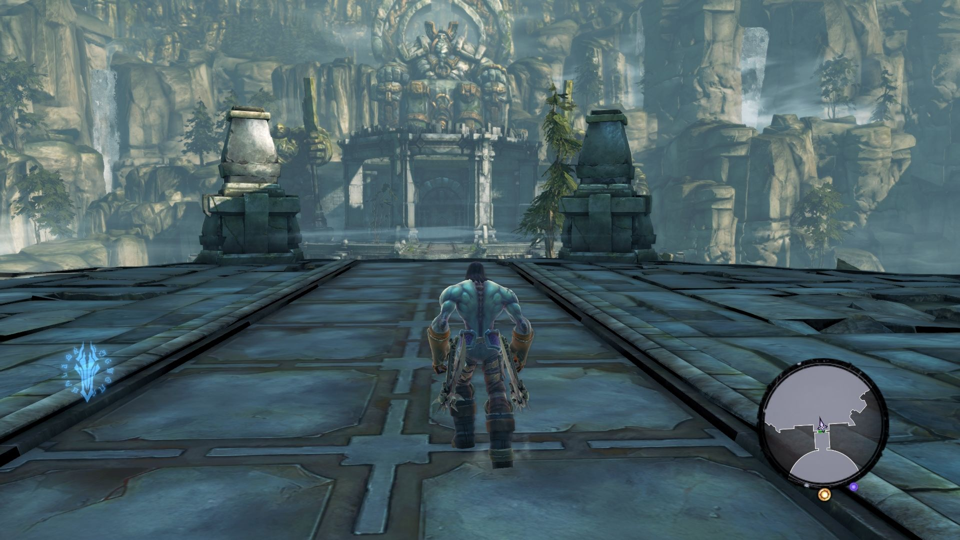 Darksiders II Windows The neutral area provides various activities for player to participate in.