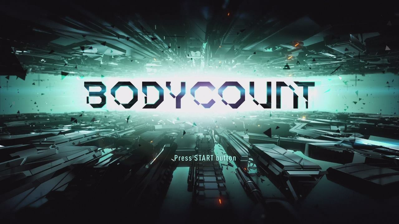 Bodycount PlayStation 3 Title screen