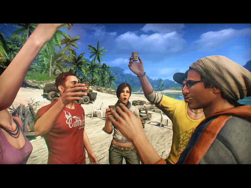 Far Cry 3 Windows The intro, showing the carefree life of these youngsters, is in stark contrast with the grim reality of the game