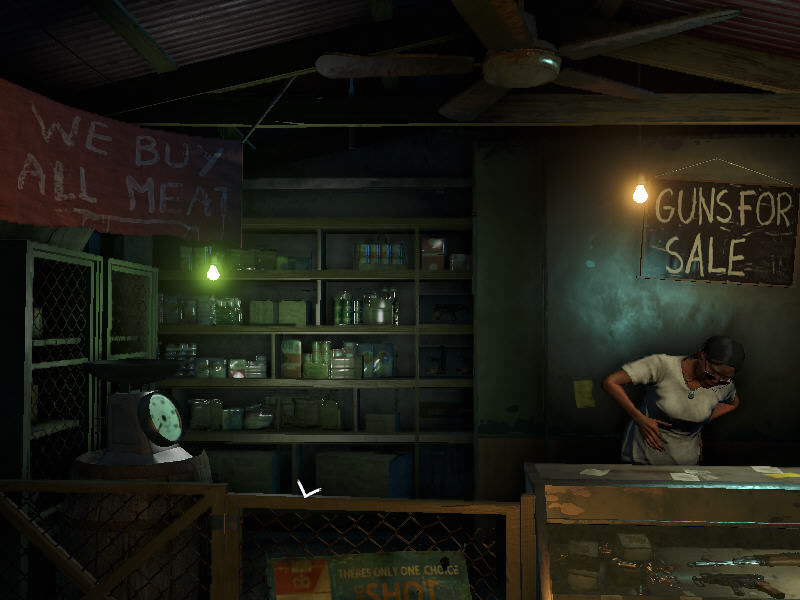 Far Cry 3 Windows The gun shop is unexpectedly atmospheric