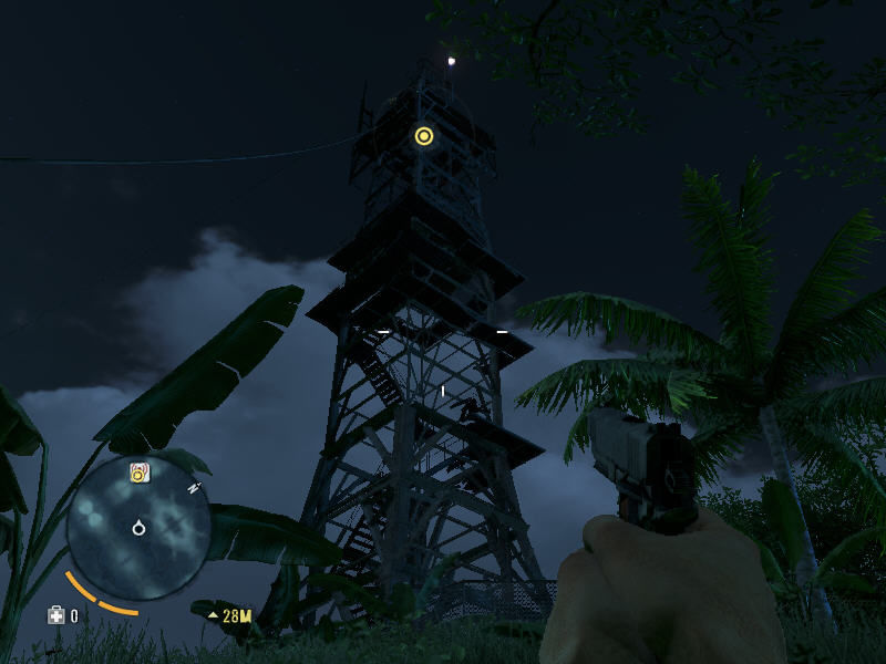 "Far Cry 3 Windows A view of the radio tower. Climbing on those structures maps your surroundings, just like in <moby gamegroup=""assassin's creed"">Assassin's Creed</moby> games"