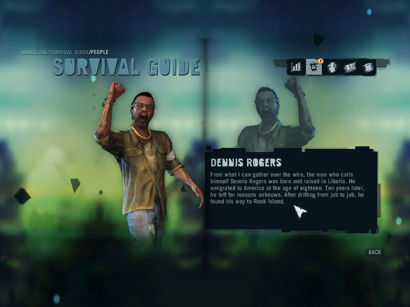 Far Cry 3 Windows There is an extensive database covering pretty much everything you see in the game