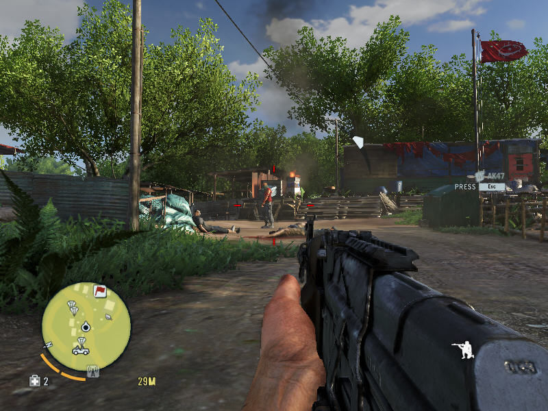 Far Cry 3 Windows Now that's much better than just a stupid pistol. Watch out, pirates!..