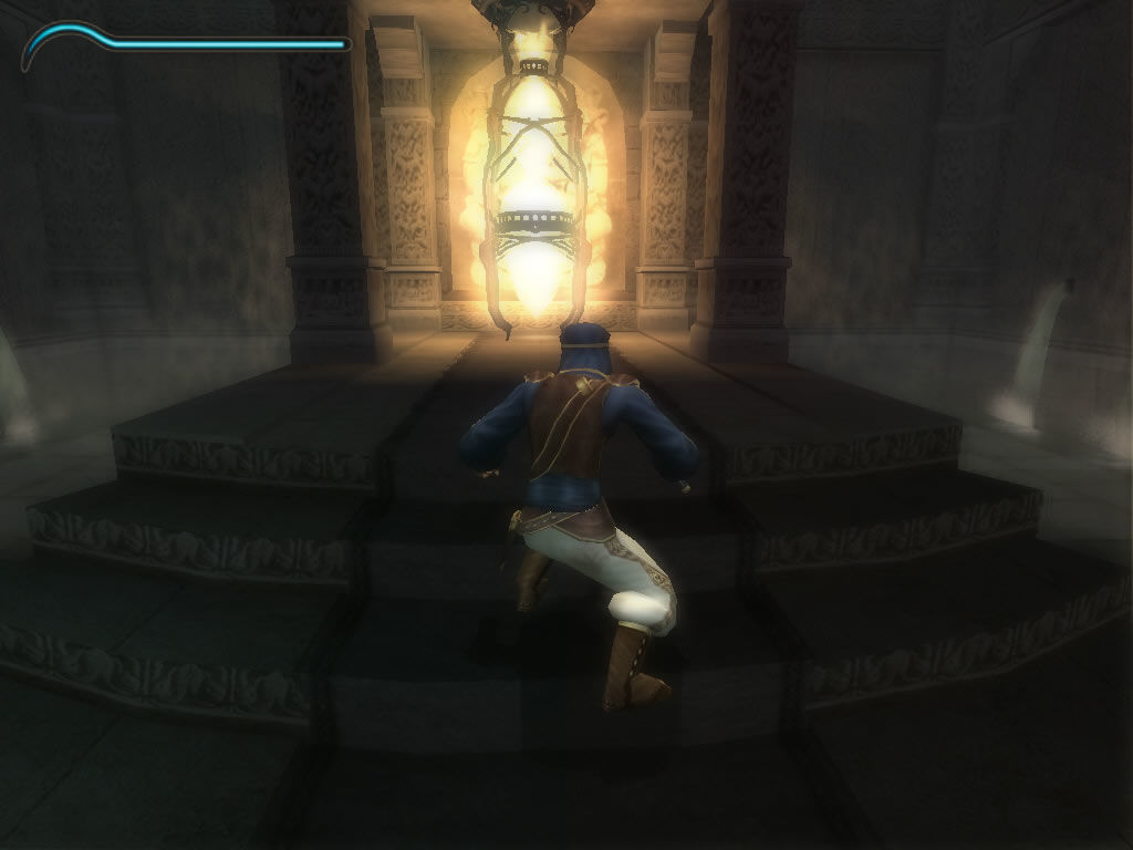 Prince of Persia: The Sands of Time Windows The hourglass that will unleash the sands of time.