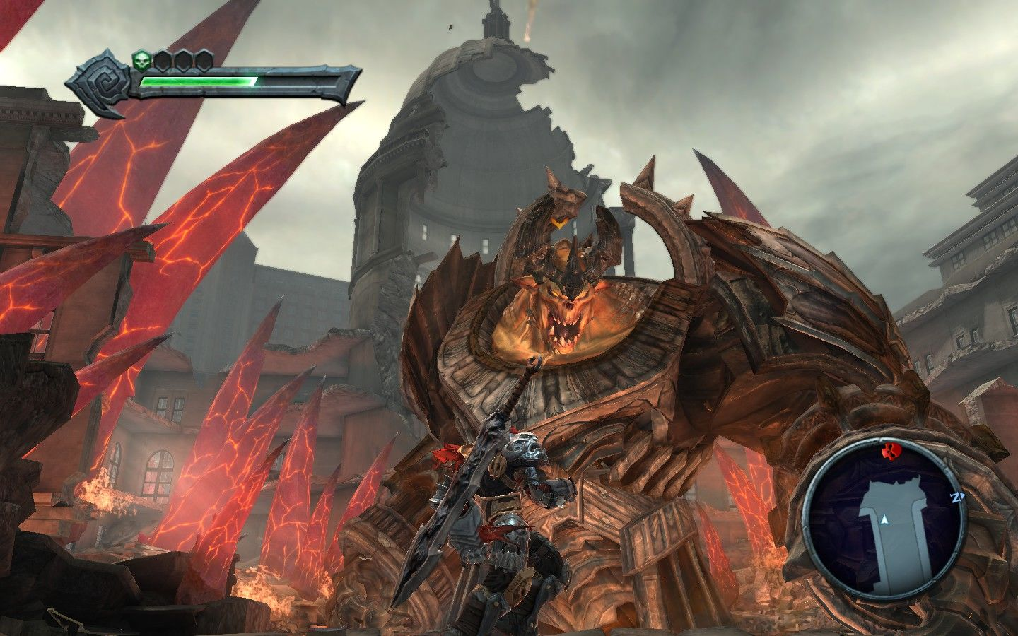 Darksiders Windows An early peek at the game's colossal bosses.
