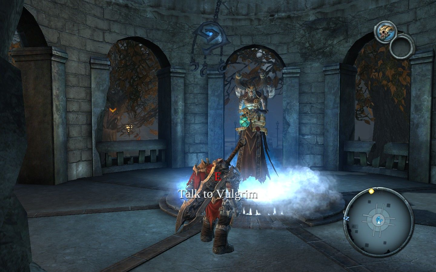 Darksiders Windows Your best and only friend, the merchant.