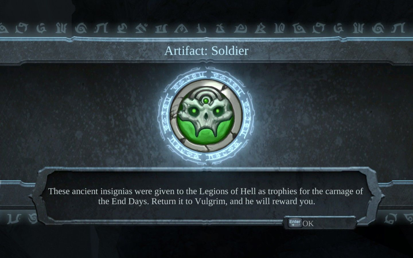 Darksiders Windows Artifacts can be exchanged for souls, the game's currency.