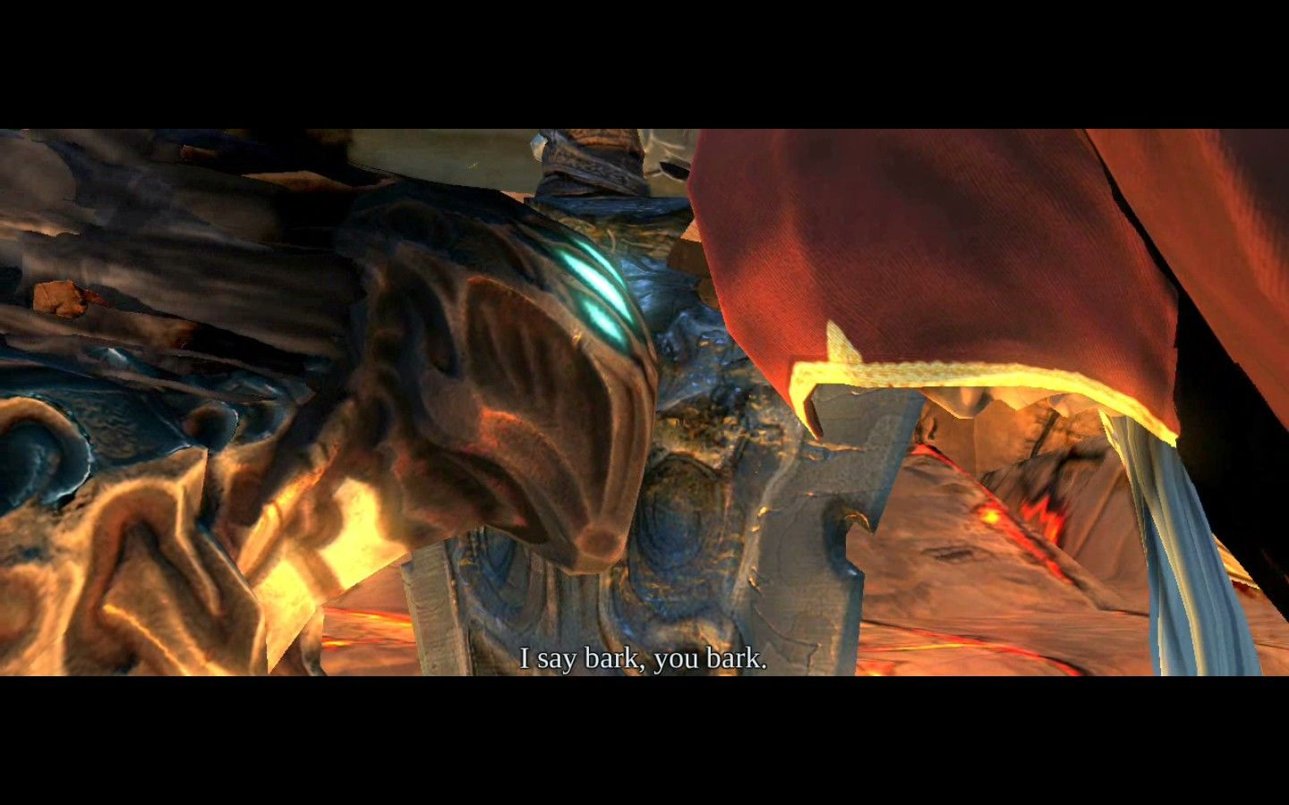 Darksiders Windows He never did ask in the end.