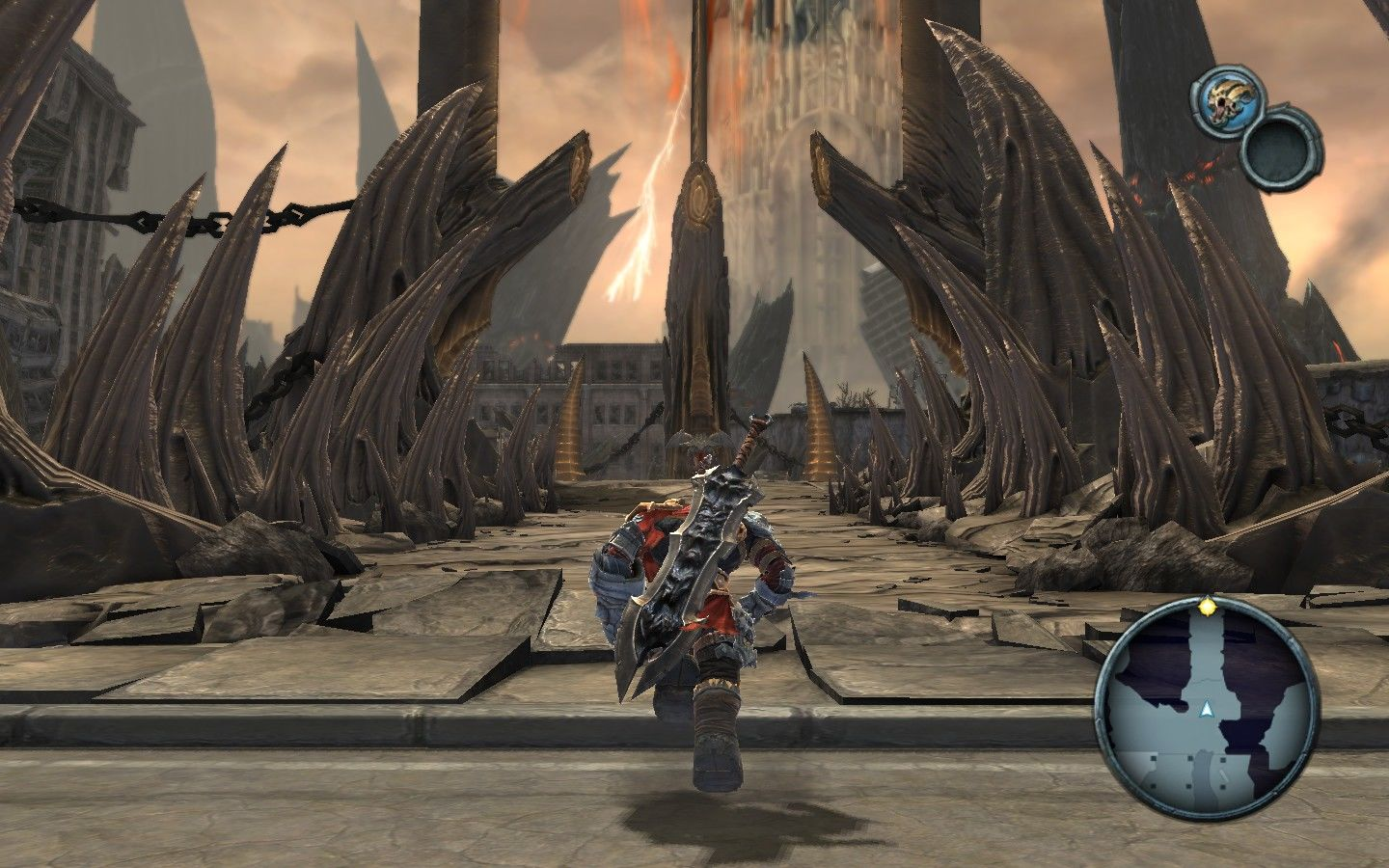 Darksiders Windows Earth has been redecorated with exquisite style.