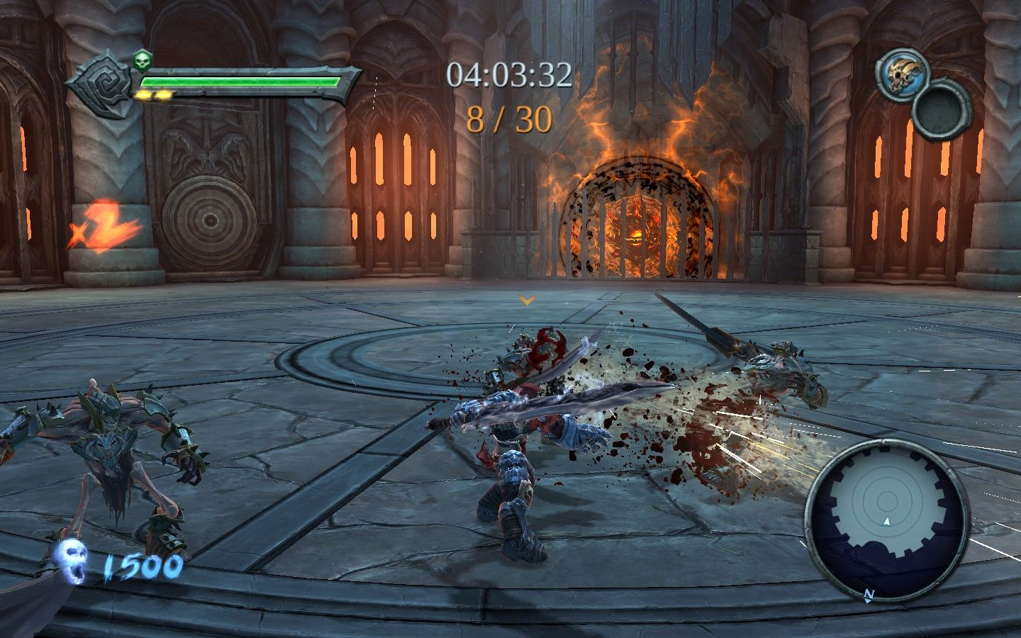Darksiders Windows The many ways of the art: #1 Caress enemies with the Chaoseater.