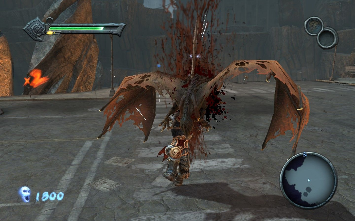 Darksiders Windows The many ways of the art: #2 Jump on airborne enemies for maximum efficiency.