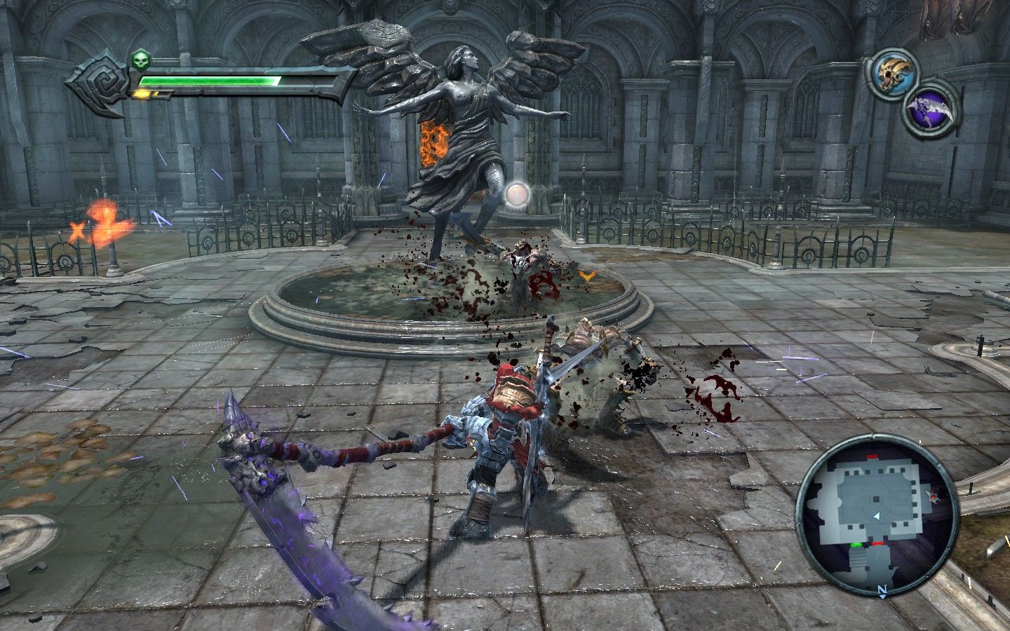 Darksiders Windows The many ways of the art: #3 Swing Scythe in a circular fashion to fascinate enemies.