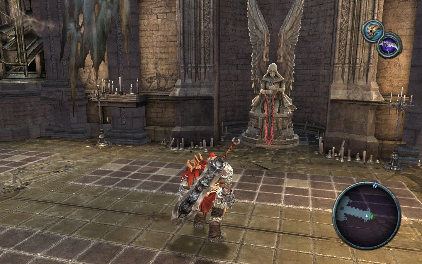 Darksiders Windows Always harden your spirit through prayers.