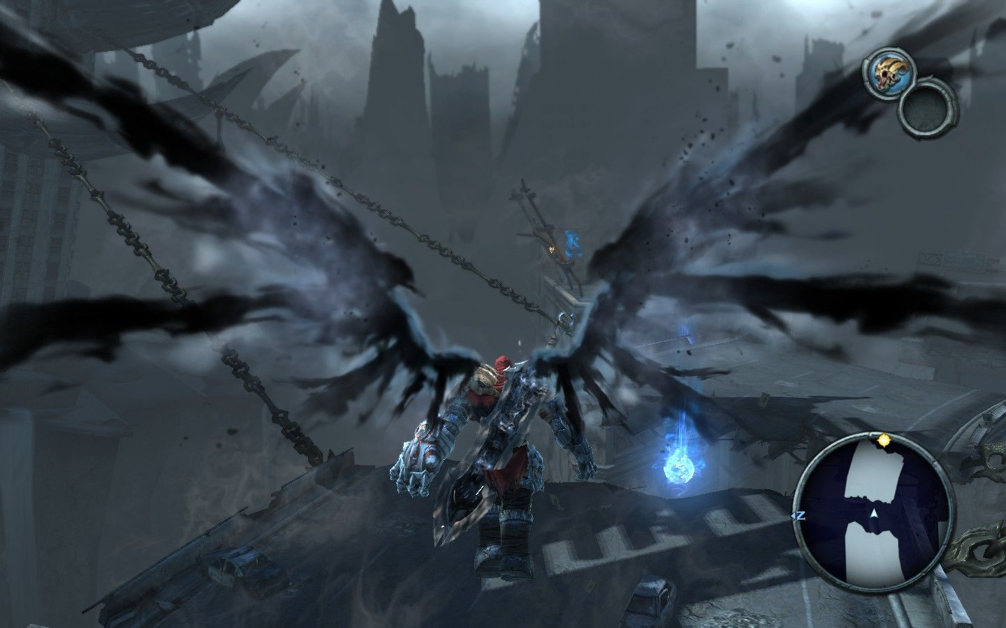 Darksiders Windows Only War and Inspector Gadget can perform this trick.