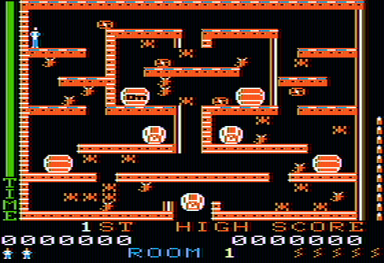 Lost Tomb Apple II First room