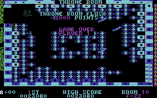 Lost Tomb Commodore 64 Snatched the treasure, but didn't make it to the exit