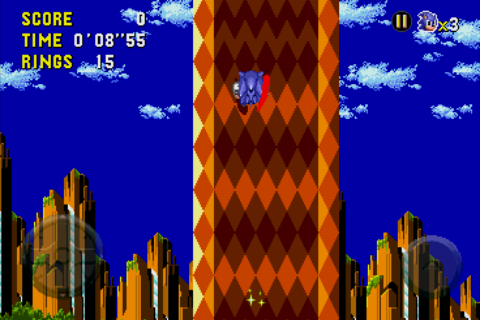 Sonic CD Android A perspective shift.