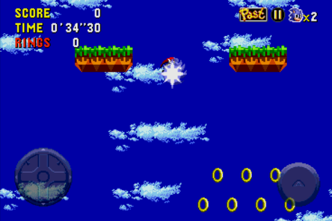 Sonic CD Android Sparks fly as you rev up to travel through time.